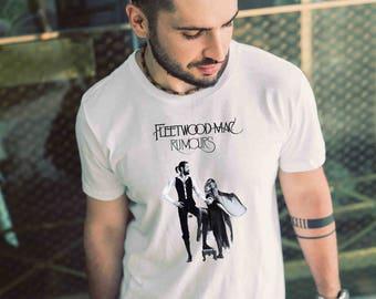 Fleetwood Mac Rumours T Shirt Fleetwood Mac Rumours Shirt Mens T Shirt Gift Men Shirt
