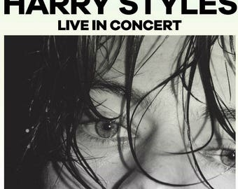 Dallas - Harry Styles Live on Tour Custom Poster DIGITAL DOWNLOAD