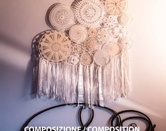 Dreamcatcher hand crafted Made in ITALY (Various dimensions)