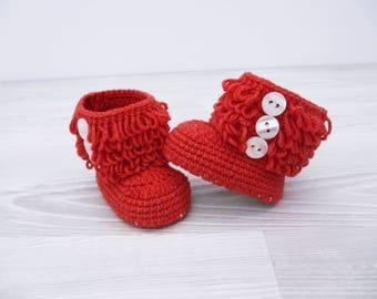 Crochet baby booties Baby shoes Baby boots Infant shoes, Shoes crochet, Crochet baby shoe, Baby gift set, Baby boy shoes, Knit baby boots,