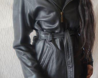Vintage Women's Leather Jacket