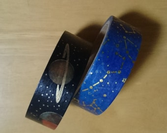 Washi masking tape(Spase/Galaxy)