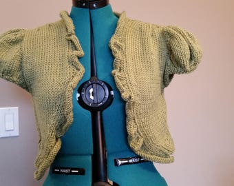 Ladies Knit Bolero