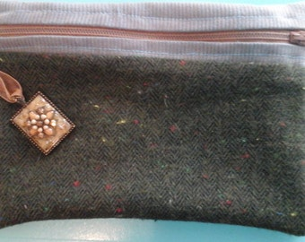 Up Cycled Vintage Change Purse