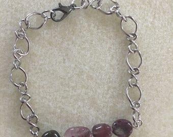 Tourmaline Beaded Bracelet