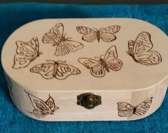 PERSONALISED OVAL BOX