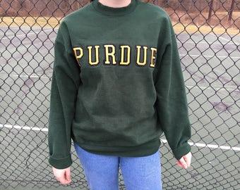 Green Purdue Sweater