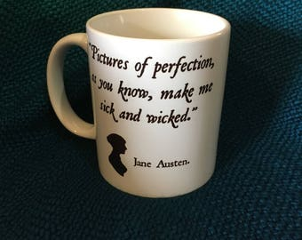 Wicked Jane Austen Mug