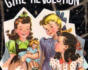 Girl Revolution {Original Collage}