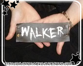 Walker Patch - zombie walking dead game of thrones white walker game rpg gamer gaming d&d dungeons dragons adventure adventurer mmorpg