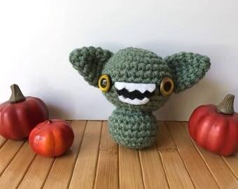 Gremlin Moon Bun - Bunny Rabbit Amigurumi - October Create a Day Challenge Doll