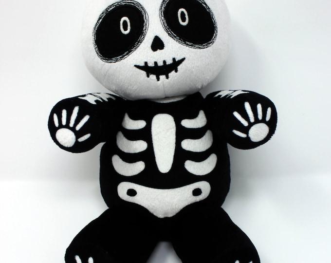 Vincent the Skeleton Plush Doll