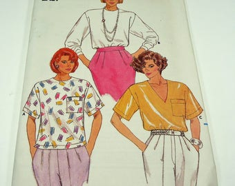 Butterick Fast And Easy Misses' Top Pattern 3900 Size Large - Extra Large
