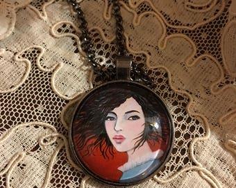 Windswept - Art Necklace