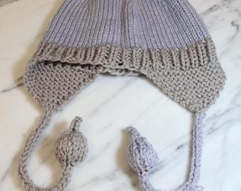 Large Bauble Earflap Hat