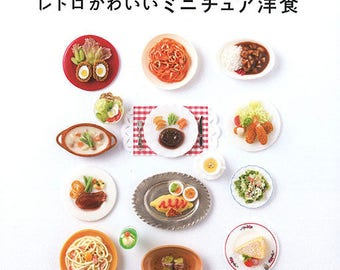 Food Miniatures Book - How To Make Miniature Western Food