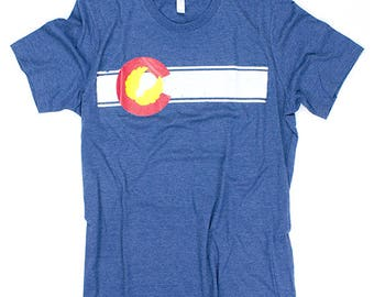 Colorado Flag Triblend Tee