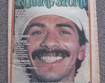 May 6 1976 Rolling Stone featuring Santana No. 212