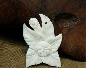Flower in Bone