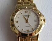 Vintage Raymond Weil Swiss Made Wrist Watch by avintageobsession on etsy