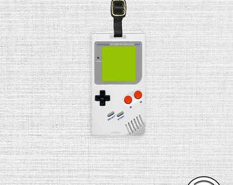 Luggage Tag Video Game Luggage Tag Personalized Retro Video Game System Luggage Tag Single Tag