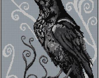 A Raven Treasure Cross Stitch Chart