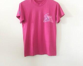 80's Pink Dauphin Island Tee