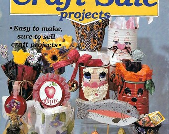 50 New, Old Ideas for Craft Sales, Make Money Selling These Easy to Make Ideas Vintage Booklet 1995