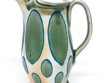 Soda Fired Porcelain Pitcher (32 oz/1 L)