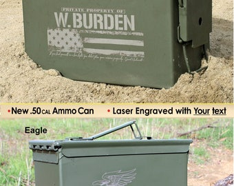 Christmas Gift for Dad Husband Boyfriend Gift for Men Ammo Box