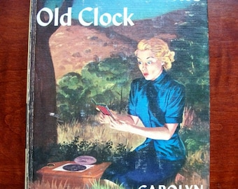 Vintage Nancy Drew Book 1 The Secret of the Old Clock