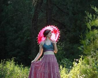 Guatemalen / Skirt / Maxi / Gypsy / Boho / Hippie / Festival Clothing / Festival / Mexican / Summer