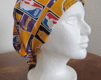 Lakers Tie-back Surgical Scrub Hat