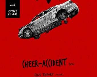 POSTER CHEER-ACCIDENT