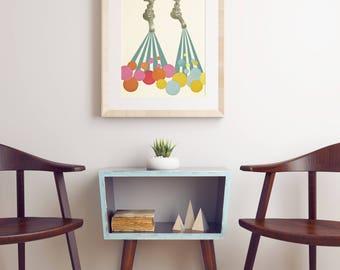 Retro Kitchen Art - Soapsuds