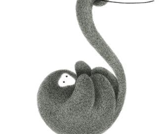The Furry Thing Series – Monkey – See things from a different perspective A4