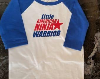 American Ninja Warrior little ones