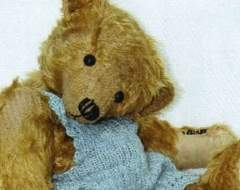 Sewing pattern For Antique Style Bear 11 inch