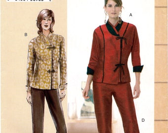 Vogue Today's Fit VP957 Sewing Pattern by Sandra Betzina for Misses' Top and Pants - Uncut - Bust 46, 49, 52, 55