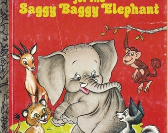Vintage New Friends for the Saggy Baggy Elephant, 1975