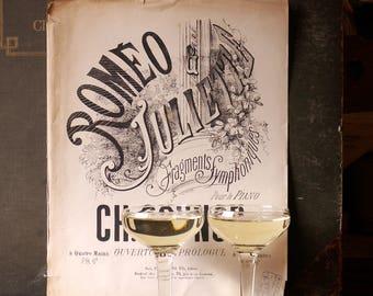 Set of 5 Vintage Hollow Stem Champagne Glasses - Vintage Wedding Decor