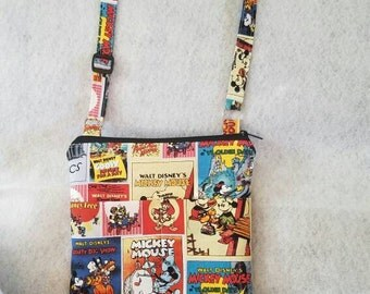 FAST SHIPPING//Mickey Mouse crossbody bag//Adjustable strap