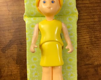 Dollhouse Mattress, fits LITTLE TIKES vintage dollhouses- yellow