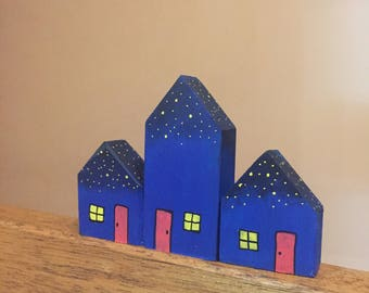 Night Sky Houses