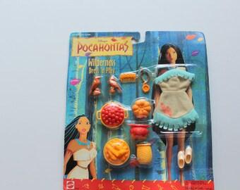 Vintage Pocahontas Wilderness Dress 'n Play Outfit Set 1995 NIB