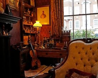 Sherlock Museum photo print