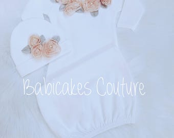 Newborn Girl Take Home Outfit, Winter Baby Outfit, Victorian Layette, Coming Home Outfit, Newborn Girl Layette, Fancy Girl Baby Clothes
