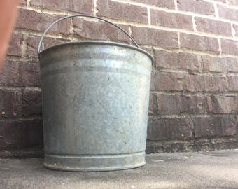 Number 10 Metal Bucket