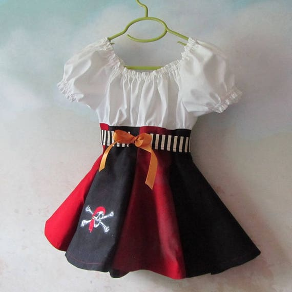 Girl's Pirate Dress & Belt