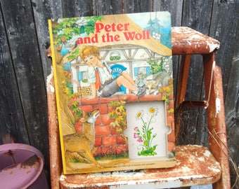 Vintage Peter and the Wolf Board Book
